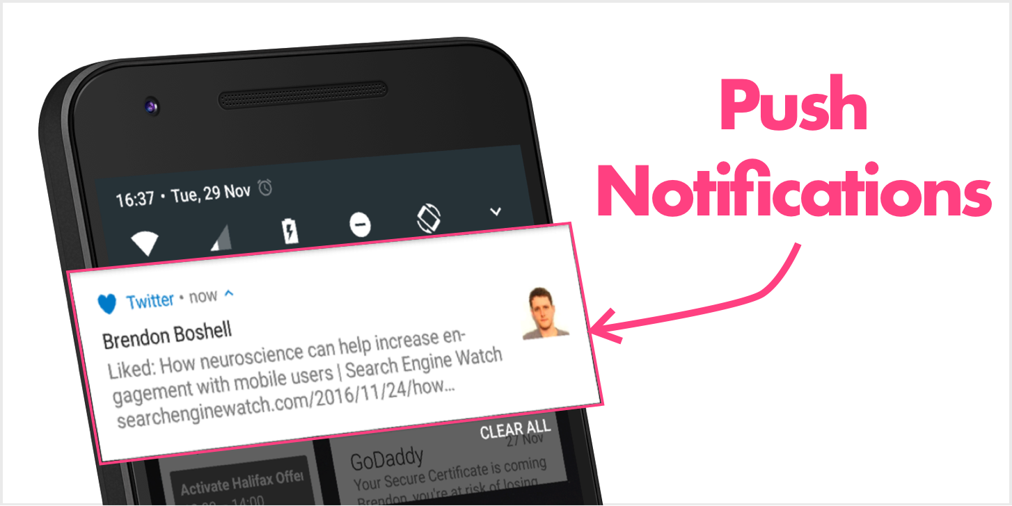Freemium mobile apps can use push notifications to increase engagement.