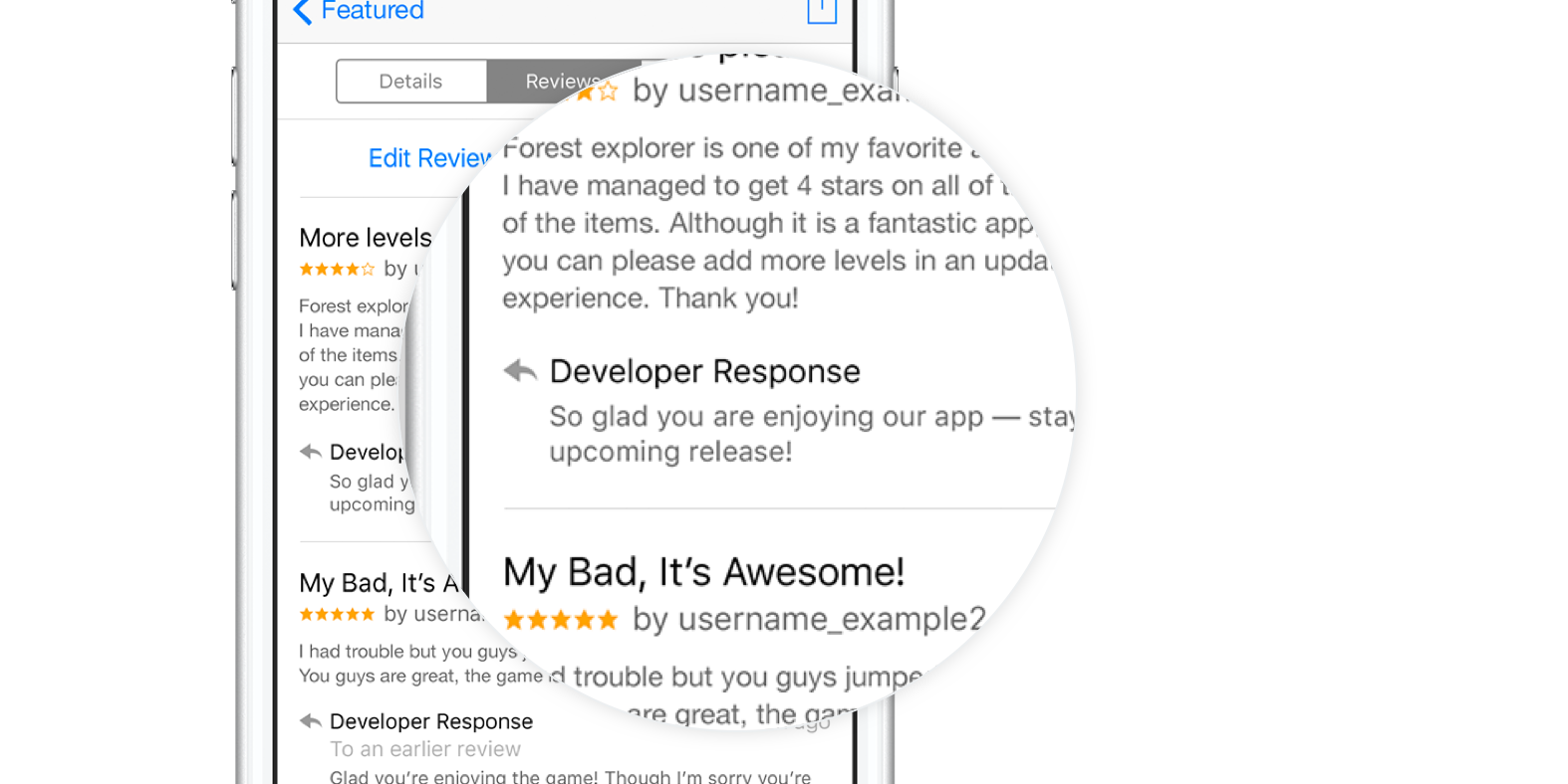 App Store Now Shows App Developer's Replies to User Reviews