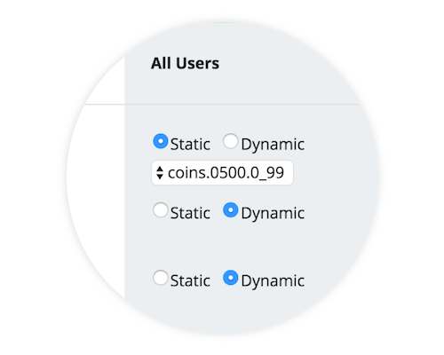 You can use dynamic pricing for all or some of your in-app purchases.